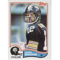 1982 Topps Terry Bradshaw Pittsburgh Steelers