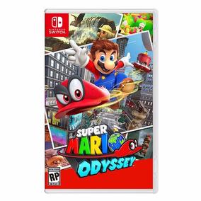 Juego Super Mario Odyssey Nintendo Switch