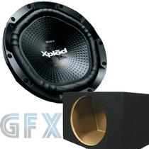 Subwoofer Sony Nwx 1200 400 Rms + Caja Acústica