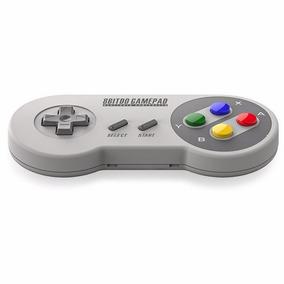 Controle Super Nintendo Snes Sem Fio Bluetooth Mac + Brinde