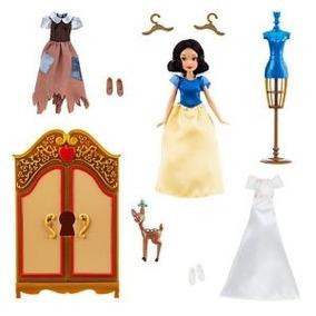 Disney Blancanieves Vestuario Doll Juego Set