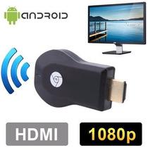 Mirascreen Hdmi Full Hd 1080p Igual Wecast Chomecast Anycast