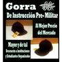 Gorra De Instrucción Pre-militar Arlizth99 Mayor Y De Tal.