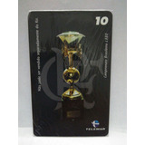 Cartão Telefônico Serie Taça Do Brasileirão 1980 . 3401fc2855fc9