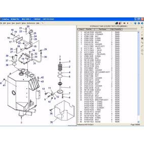 Komatsu Link One Diagramas Partes Maquinaria Pesada Diesel