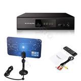 1080p Digital Atsc Receptor Sintonizador De La Tv Local