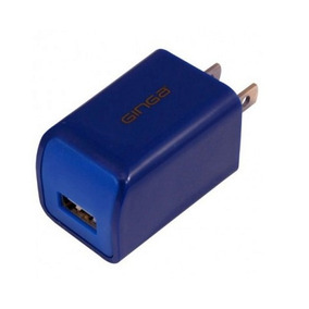 Cargador Cubo Sencillo Ginga Gi16cub01-an 5v Usb Azul
