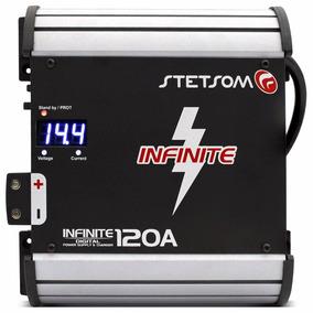 Fonte Automotiva Stetsom Infinite 120a Carregador De Bateria