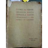 Quinquela Martín Catálogo Internacional Autografiado 1929