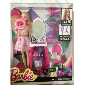 Boneca Barbie Fashion Salão De Beleza