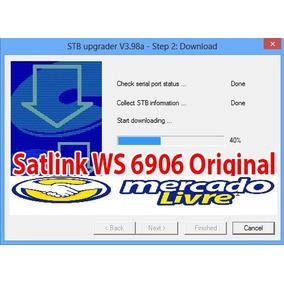 Atualização Satlink Ws 6906 Original Versão 9.0 23/03/2018