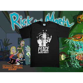 Playeras Rick And Morty - Diseño Peace