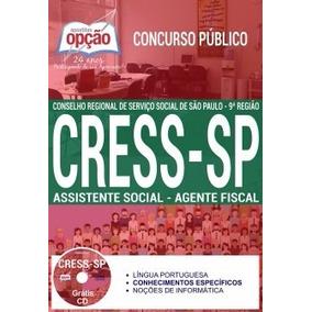 Apostila Cress Sp 2017 Assistente Social - Agente Fiscal