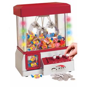 Máquina Atrapa Dulces Luz Y Sonido (grúa Gancho Garra)