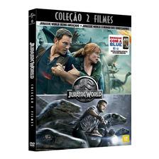 Dvd Coleção Jurassic World - 2 Discos