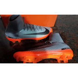 Botines Botitas Nike Cr7 Mercurial Veloce Iii Df Fg Ronaldo