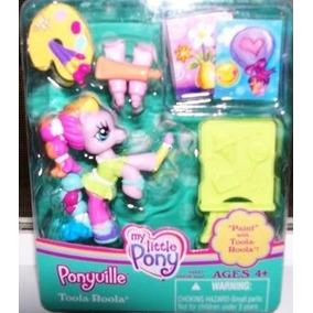 Juguete Mi Pintura Little Pony Ponyville Con Toola Roola