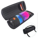 Bolsa Capa Case Jbl Pulse 3 Almofadada Transp/ Acessórios