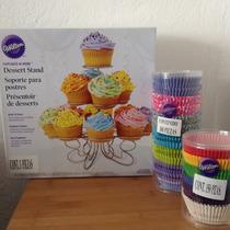 Capacillos Y Soporte Para Cupcakes Wilton Nuevo Envío Gratis