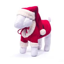 Disfraz Navideño Para Perros Santa Claus +kota