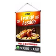 Banner Pronto Frango Assado