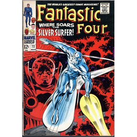 Fantastic Four #72 Mar De 1968 Marvel 6.0 (importado) Surfer