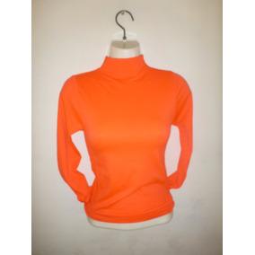 Blusa Termica Con Cuello Variedad De Colores Unitalla