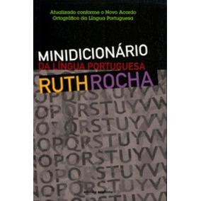 Minidicionário Da Língua Portugesa Ruth Rocha Ruth Rocha