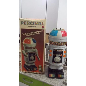 Robô Percival 1980 - Estrela - Para Colecionadores