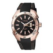 Reloj Q&q Db24j552y De Hombre Silicona Azul