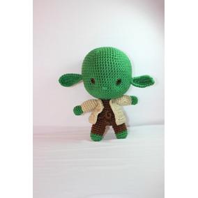Mestre Yoda De Crochê