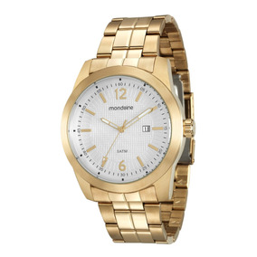 Relógio Mondaine Masculino Dourado 99116gpmvda1