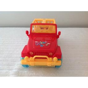Jeep Mini Cor Dance - Plástico Duro Pilhas
