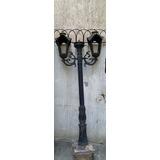 Postes De Luz De Ferro, Antigo, Para Jardim