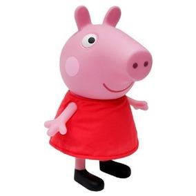 Boneca Peppa Pig Vinil Multibrink B0754