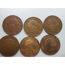 Lote De Monedas De 10 Centavos 1955 A 1967 Benito Juarez