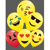 10 Globos Impresos Emojis