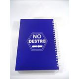 Caderno Para Canhotos De 10 Matérias (azul) - No Destro
