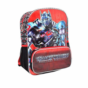 Mochila Tirantes Transformers Optimus Primaria Chenson