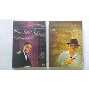 2 Dvds Billy Vaughn Nat King Cole Frete Grátis