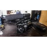Cámara Canon Hs 100 Con Micro Takstar