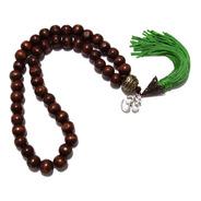 Agesta Verde Cordão 45 Contas 10mm -ideal Para A Prática Dos Códigos Sagrados
