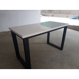 Mesa De Trabajo Tablero Mdf Base De Acero Inoxidable O Fierr