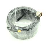 Cable Antenas Wifi Conector N Macho A Sma Macho De 20 Metros