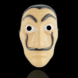 Máscara De La Casa De Papel, Salvador Dali