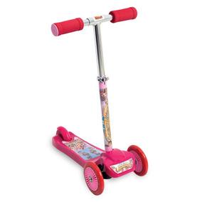 Patinete Scooter-net Princesas Mágicas Rosa Zoop Toys Zp001 4c5698807993d