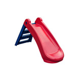 Tobogán Plegable De Plástico Para Niños 47 X 130 X 72 Cm