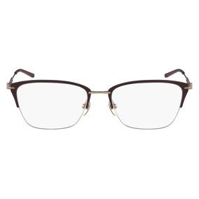 Óculos De Grau Calvin Klein Ck8065 223/52 Marrom Fosco/doura