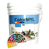 Pintura Ext Int Colormyl 20 Lt.+ Color Pastel