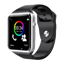 Relógio Smart Watch Bluetooth Modelo A1 Black Silver